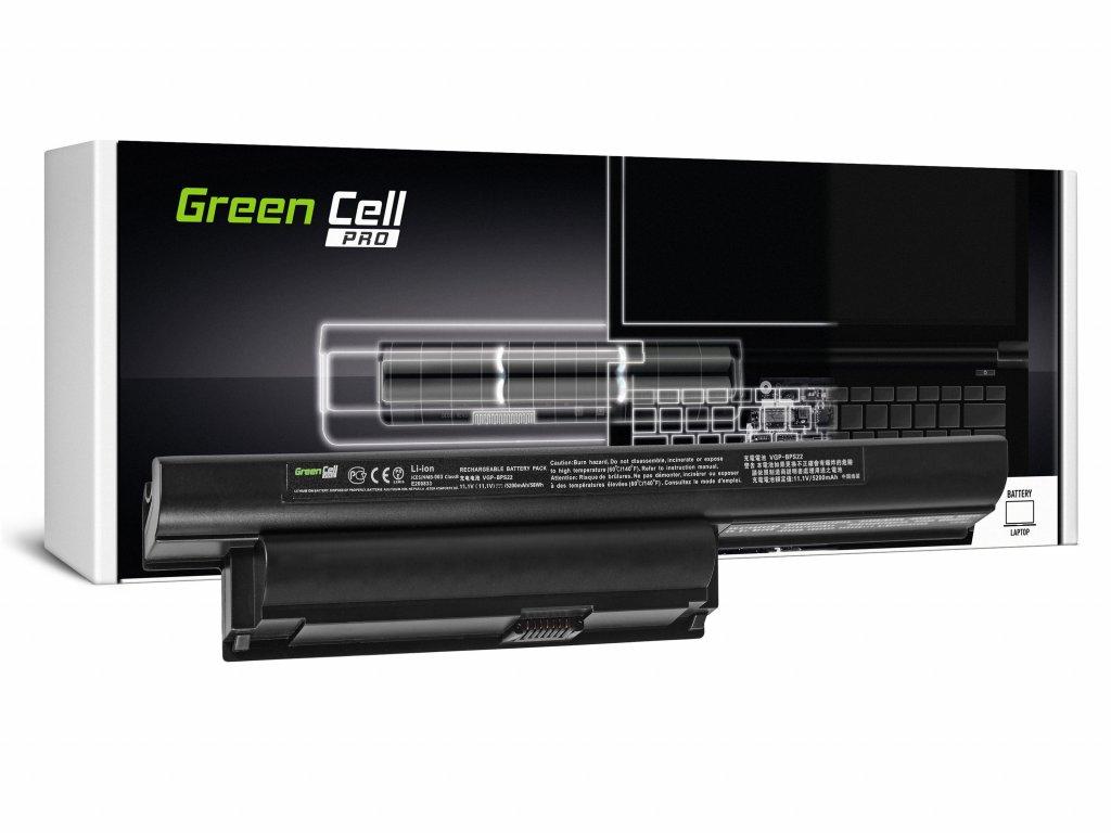 PRO Baterie pro Sony Vaio PCG-71211M PCG-61211M PCG-71212M / 11,1V 5200mAh