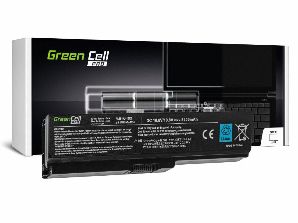 PRO Baterie pro Toshiba Satellite C650 C650D C660 C660D L650D L655 L750 PA3817U-1BRS / 11,1V 5200mAh