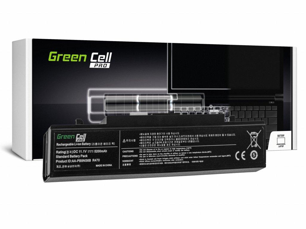 PRO Baterie pro Samsung R519 R522 R530 R540 R580 R620 R719 R780 (black) / 11,1V 5200mAh