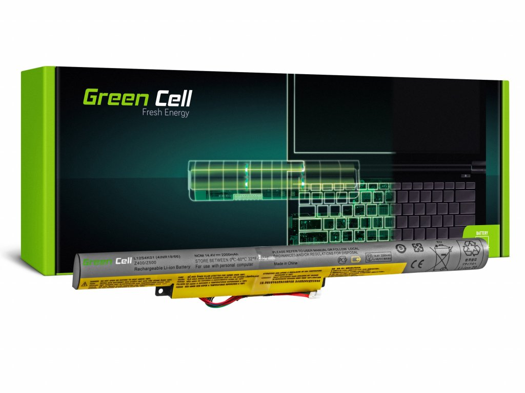 Baterie Lenovo IdeaPad P500 Z510 P400 / 14,4V 2200mAh