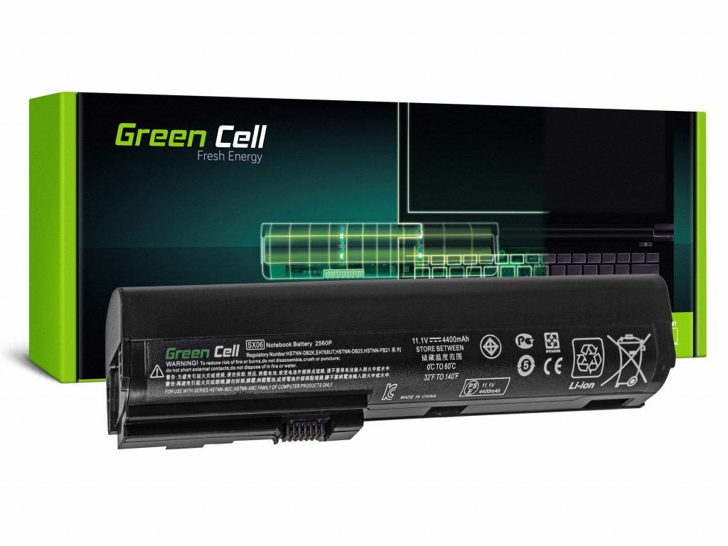 Baterie pro HP EliteBook 2560p 2570p / 11,1V 4400mAh