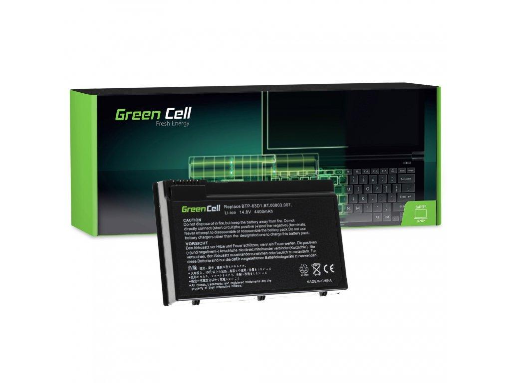 Baterie Acer TravelMate 4400 C300 2410 Aspire 3020 3610 5020 / 11,1V 4400mAh