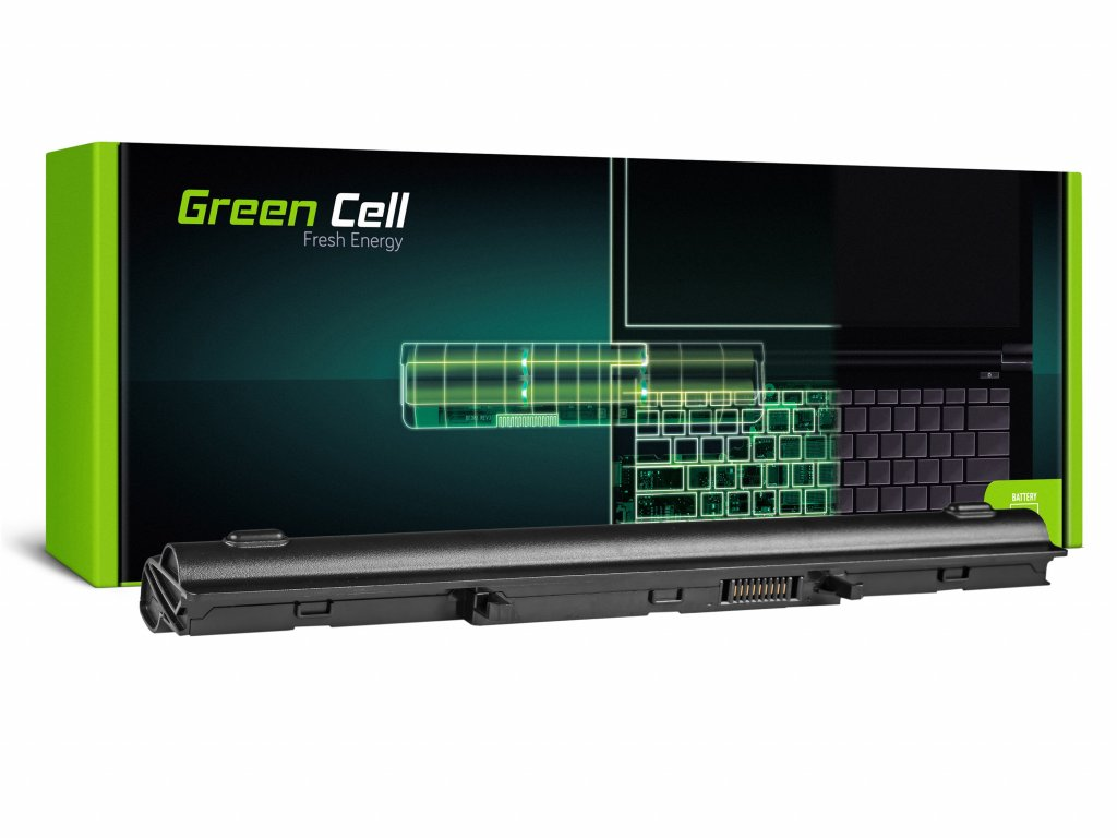 Baterie pro Asus U32 U32U X32 U36 U36J U36S (black) / 14,4V 4400mAh