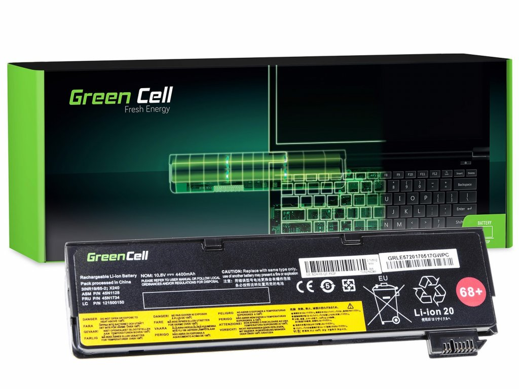 Baterie Lenovo ThinkPad T440 L450 / 11,1V 4400mAh