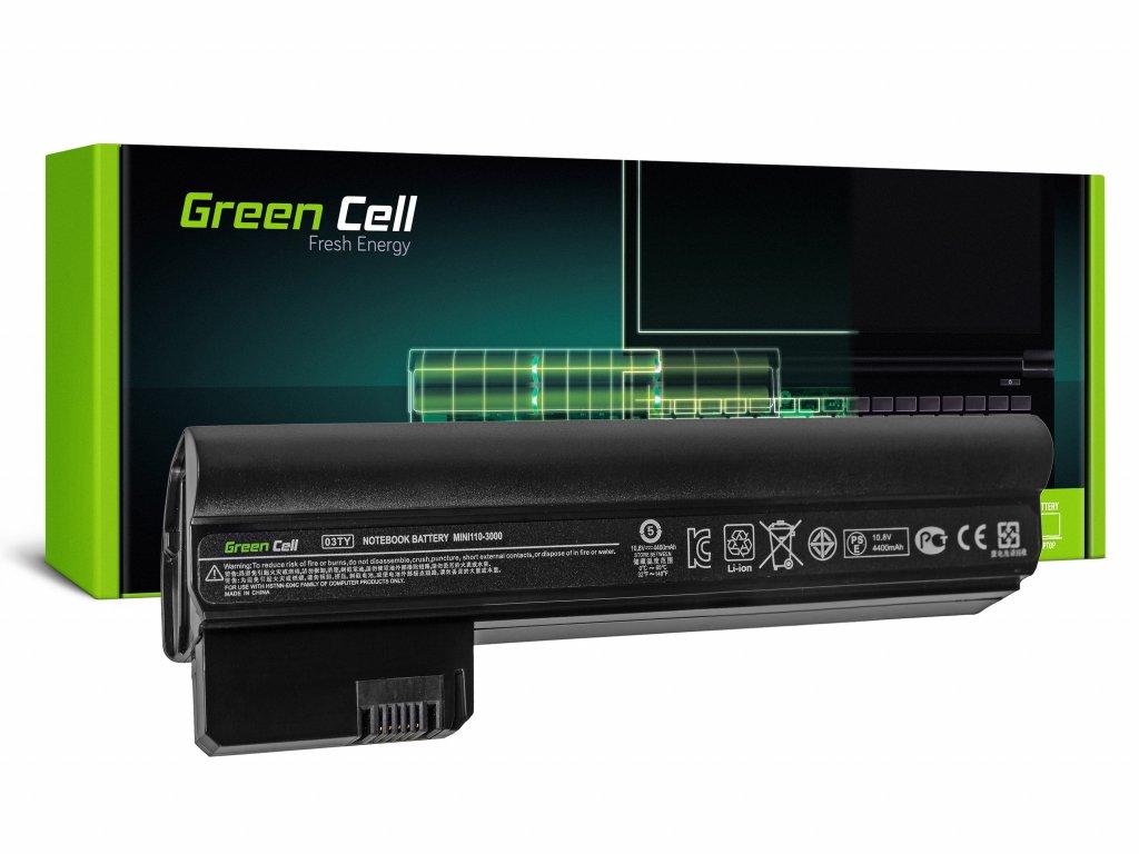 Baterie pro HP Mini 110-3000 110-3100 / 11,1V 4400mAh