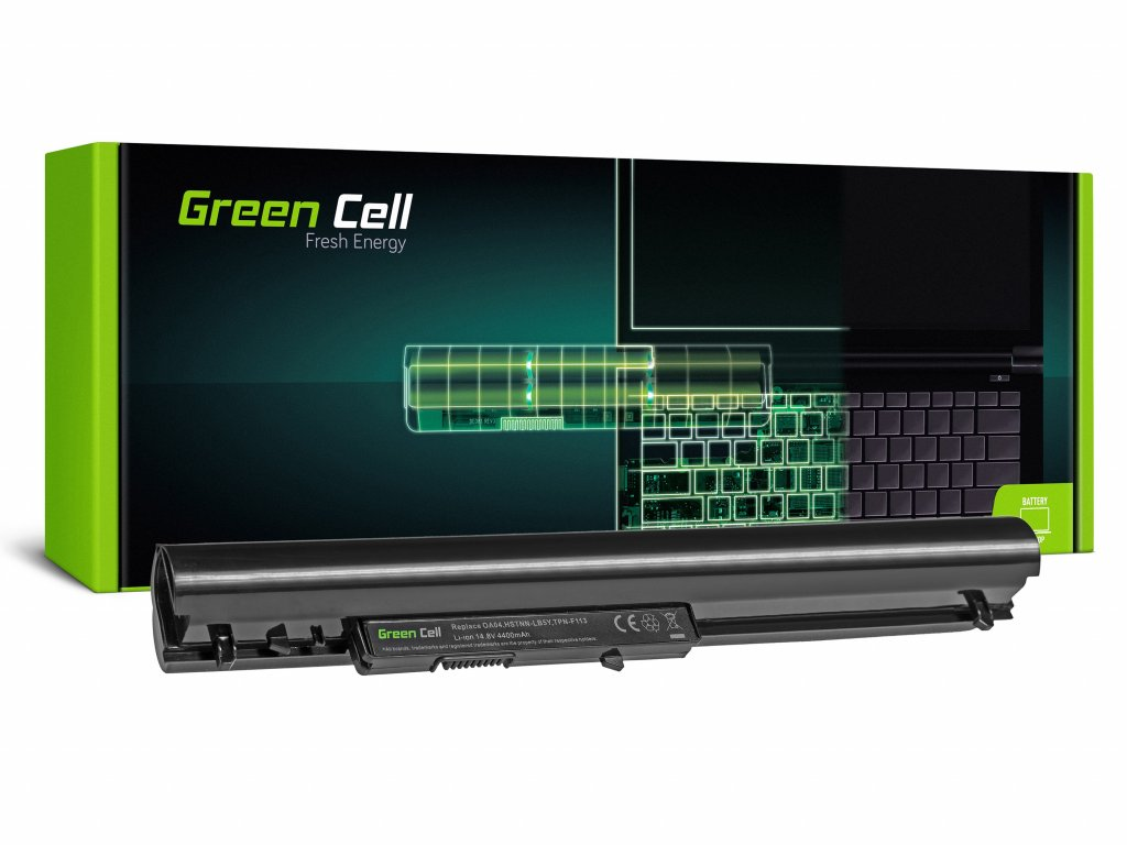 Baterie pro HP HSTNN-LB5S 240 250 255 256 G2 G3 OA04 / 14,4V 4400mAh