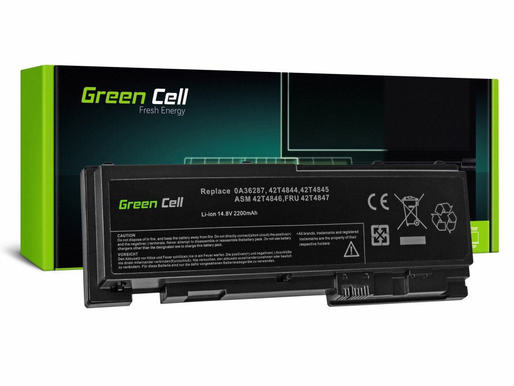 Baterie Lenovo ThinkPad T420s T420si / 14,4V 2200mAh
