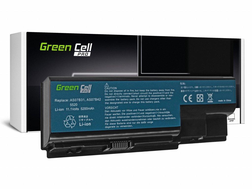 Baterie PRO Acer Aspire 5520 AS07B31 AS07B32 / 11,1V 5200mAh