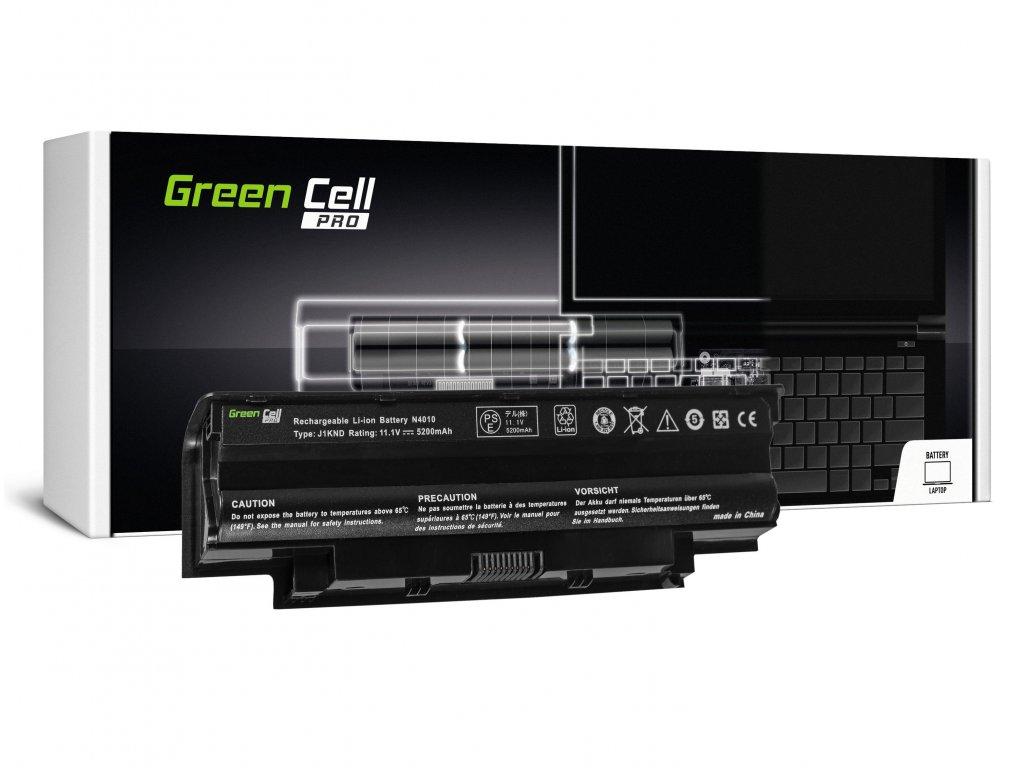 PRO Baterie pro Dell Inspiron N3010 N4010 N5010 13R 14R 15R J1 / 11,1V 5200mAh