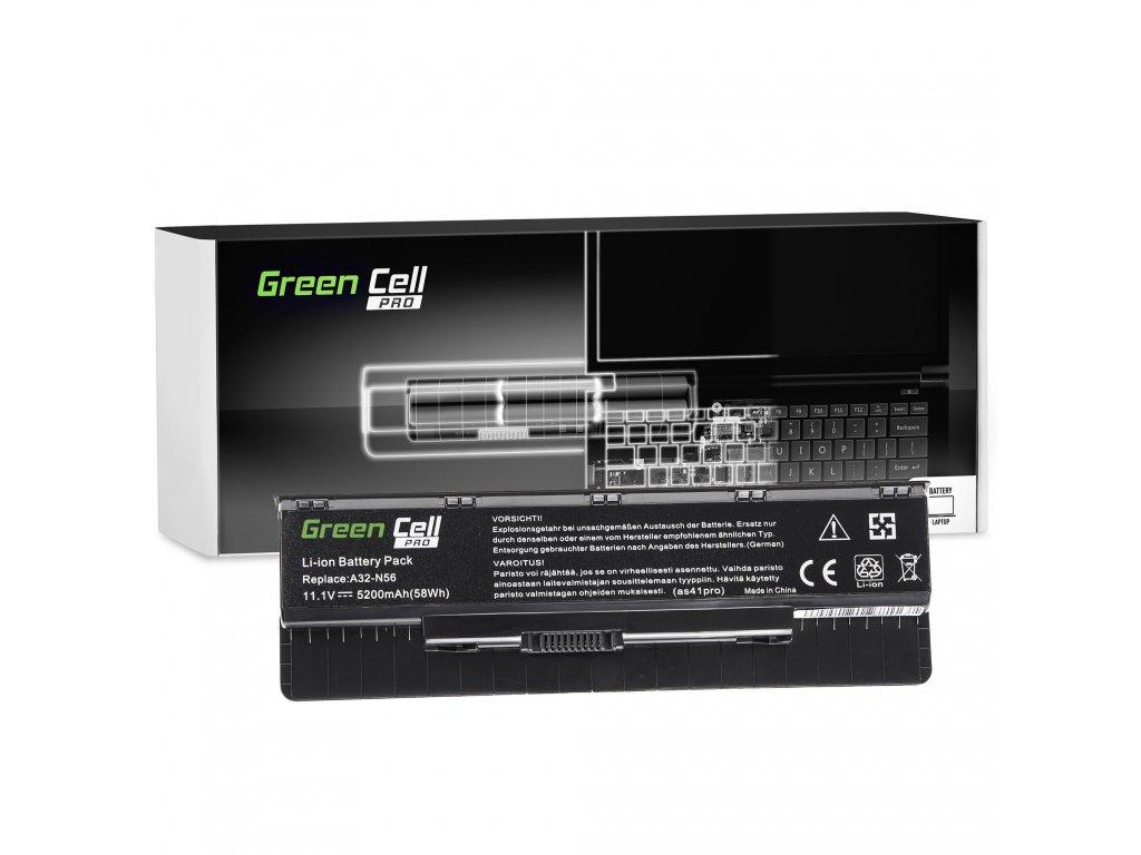 PRO Baterie pro Asus A32-N56 N46 N46V N56 N76 / 11,1V 5200mAh