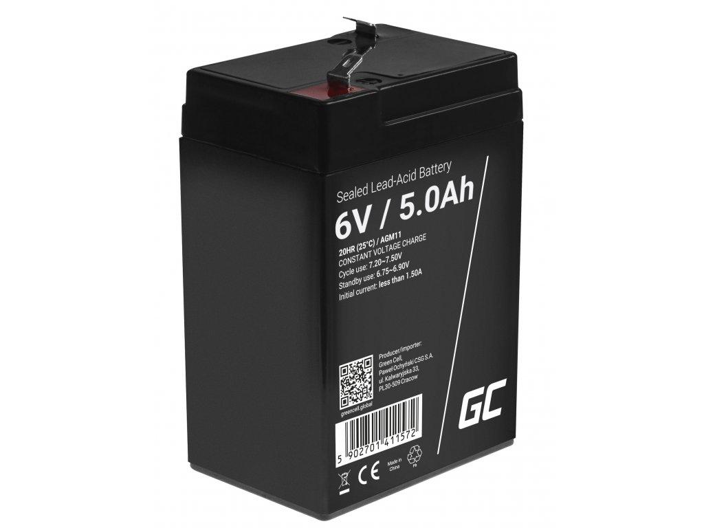 AGM Baterie 6V 5Ah