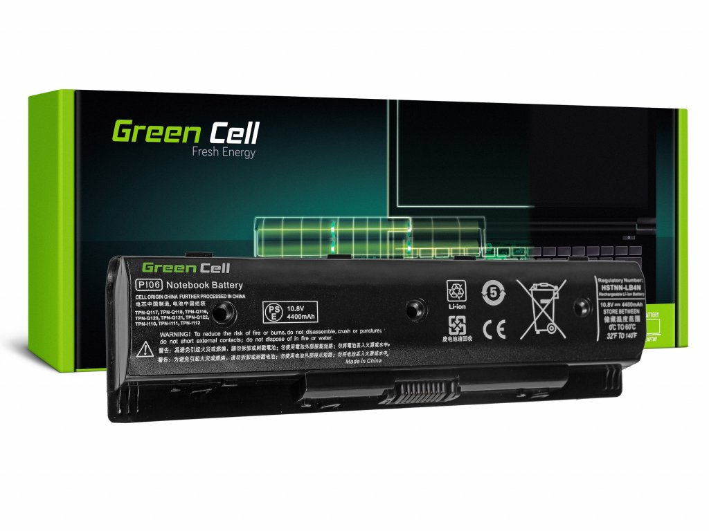 Baterie pro HP Pavilion 14 15 17 Envy 15 17 / 11,1V 4400mAh