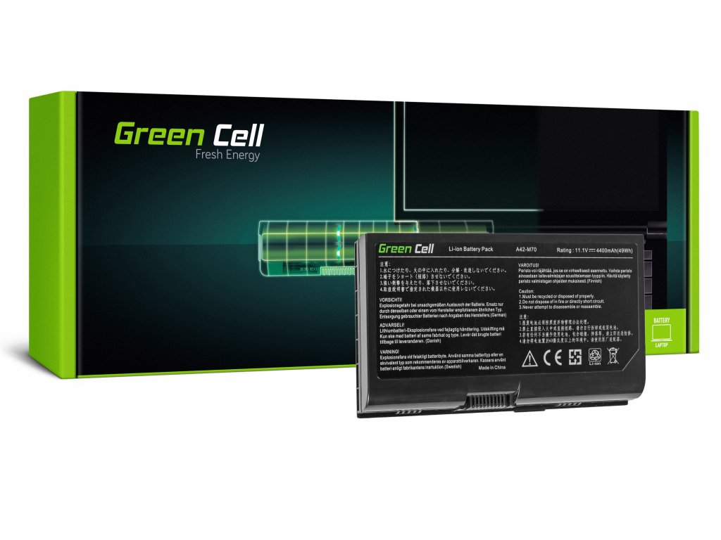 Baterie pro Asus G71 G72 F70 M70 X71 / 11,1V 4400mAh