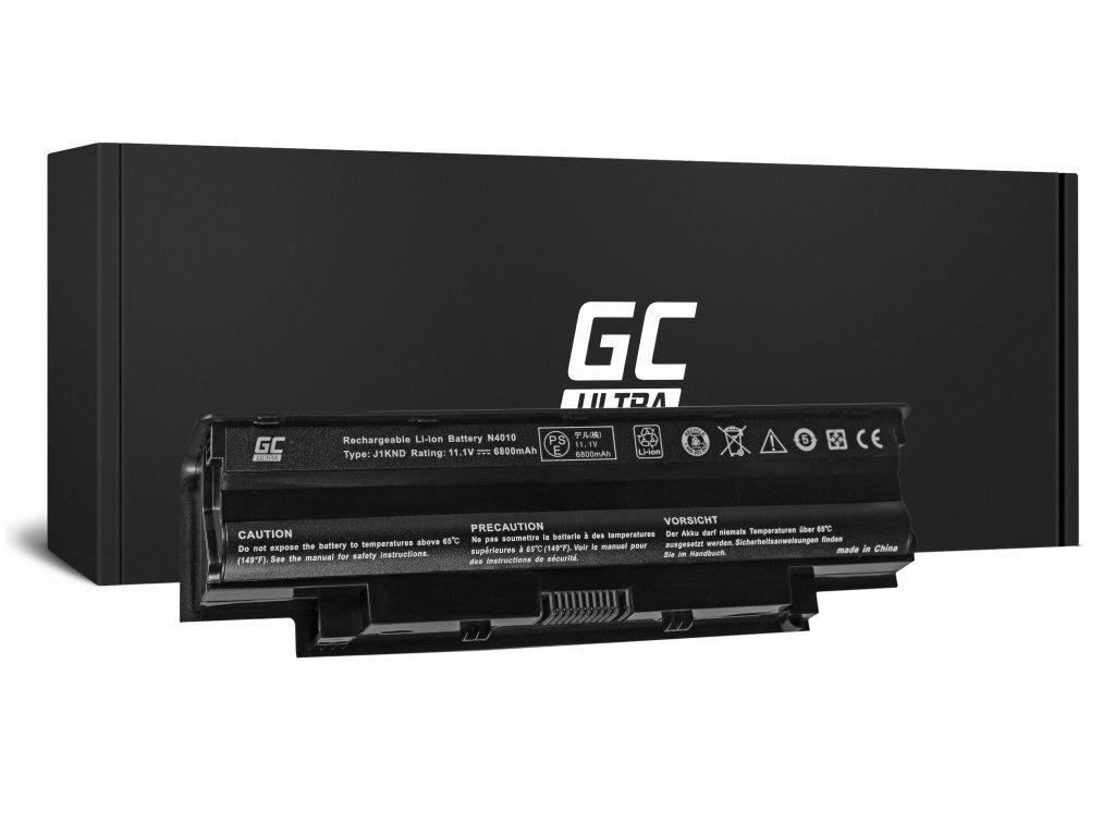 ULTRA Baterie pro Dell Inspiron N3010 N4010 N5010 13R 14R 15R J1 / 11,1V 6800mAh