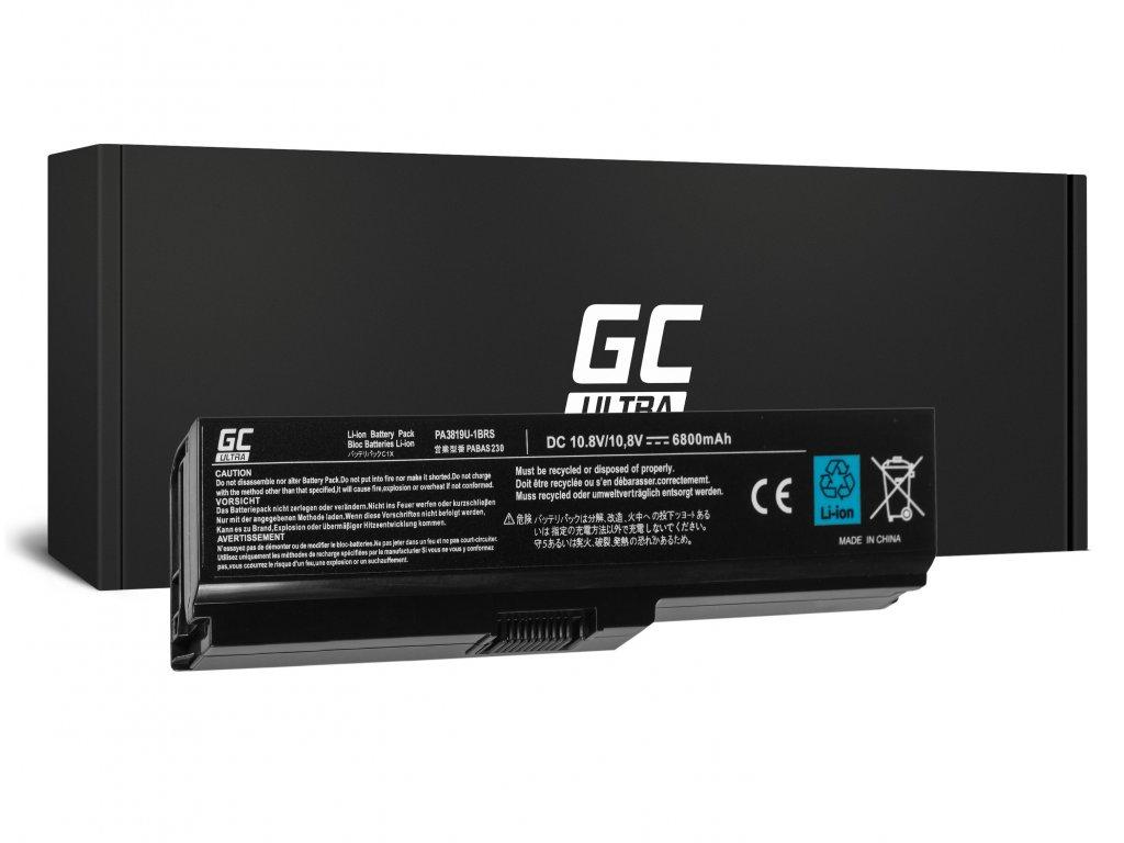 ULTRA Baterie pro Toshiba Satellite C650 C650D C660 C660D L650D L655 L750 PA3817U-1BRS / 11,1V 5200mAh