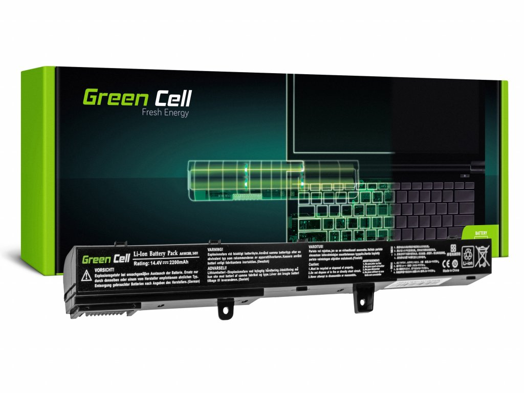 Baterie pro Asus R508 R556 R509 X551 / 14,4V 2200mAh