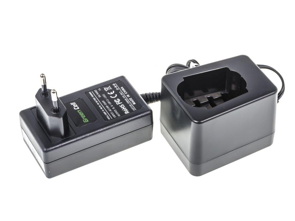 ®  Baterie Nabíječka pro Metabo 8.4V -18V Ni-MH Ni-Cd
