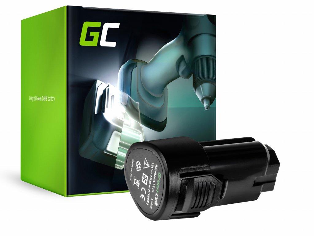 Baterie 12V 1.5Ah pro AEG L1215 BBH12 BBS12C BBS12C2 BS12C BS12C2 BSB12C BSB12C2 OMNI 12C