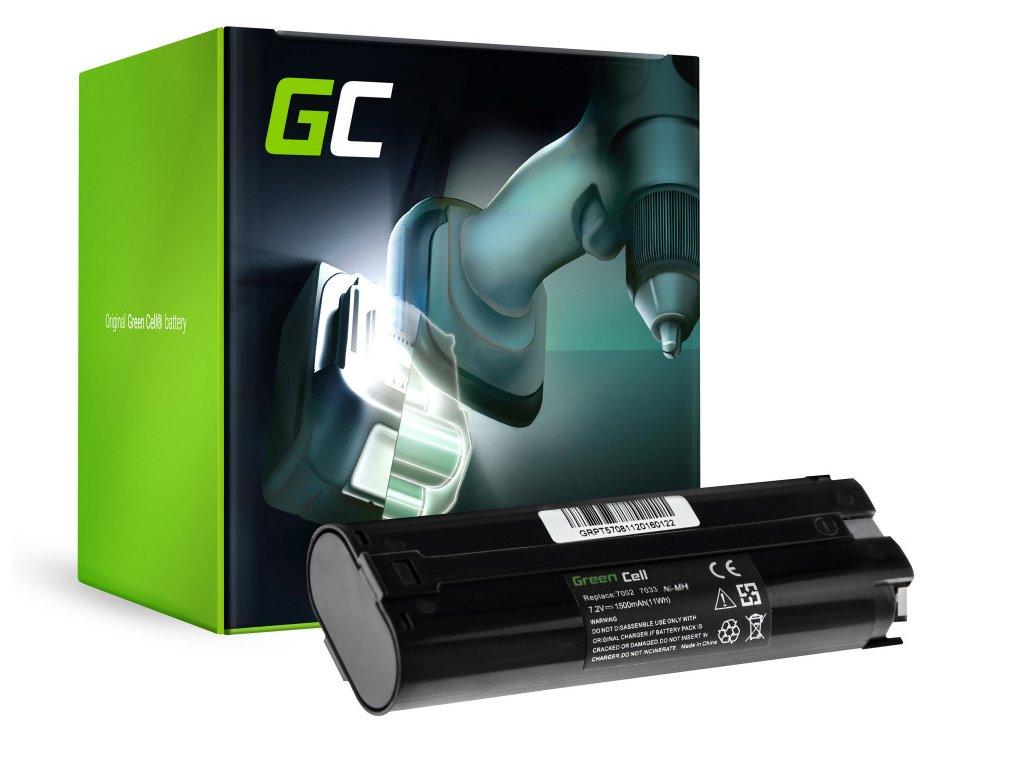 Baterie 7.2V 1.5Ah pro Makita 7000 7033 ML700 ML701 ML702 3700D 4071D 6002D 6072D 9035D 9500D
