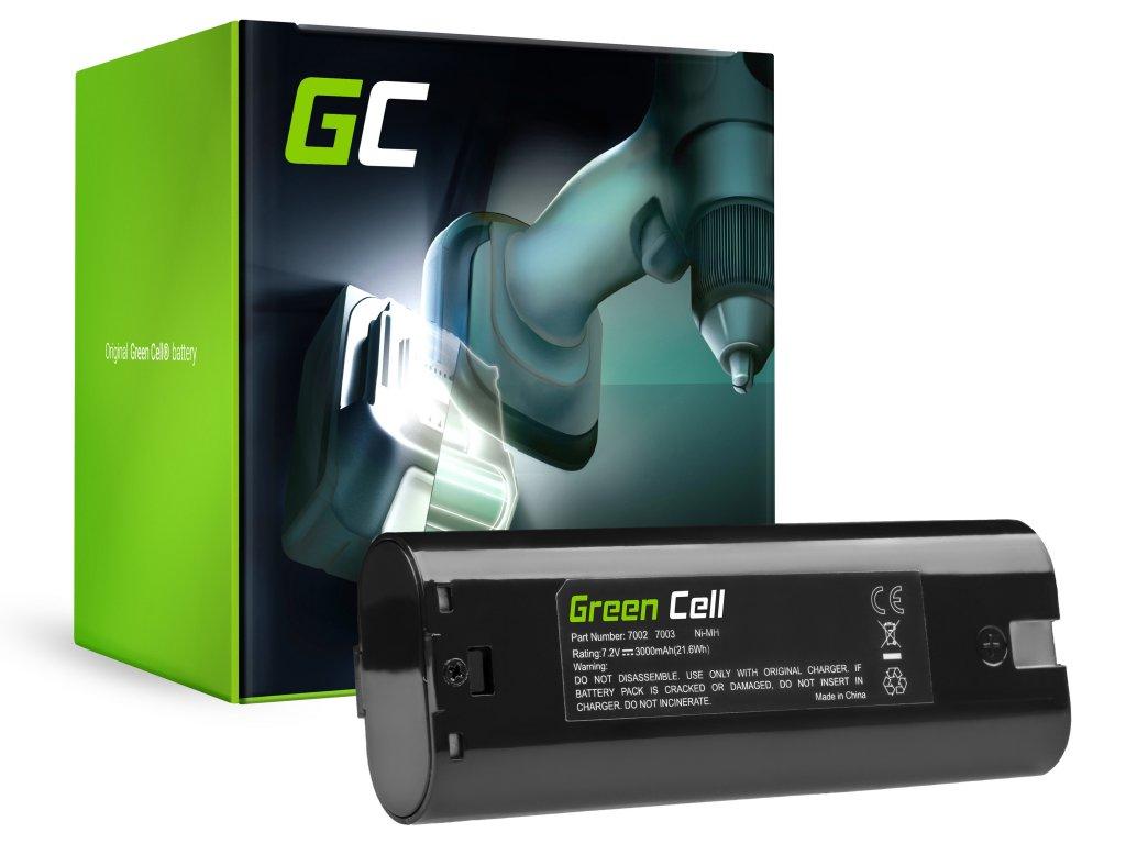 Baterie 7.2V 3Ah pro Makita 7000 7033 ML700 ML701 ML702 3700D 4071D 6002D 6072D 9035D 9500D
