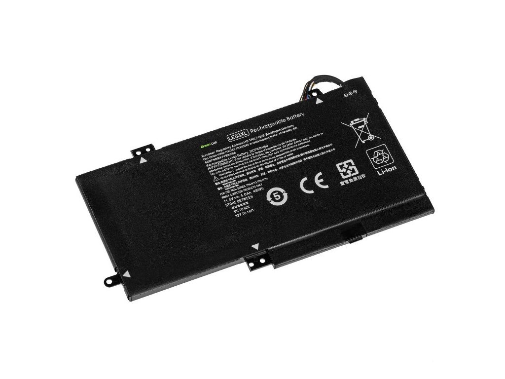 bateria green cell le03xl hstnn ub6o 796220 541 796356 005 do hp envy x360 15 w m6 w hp pavilion x360 13 s 15 bk