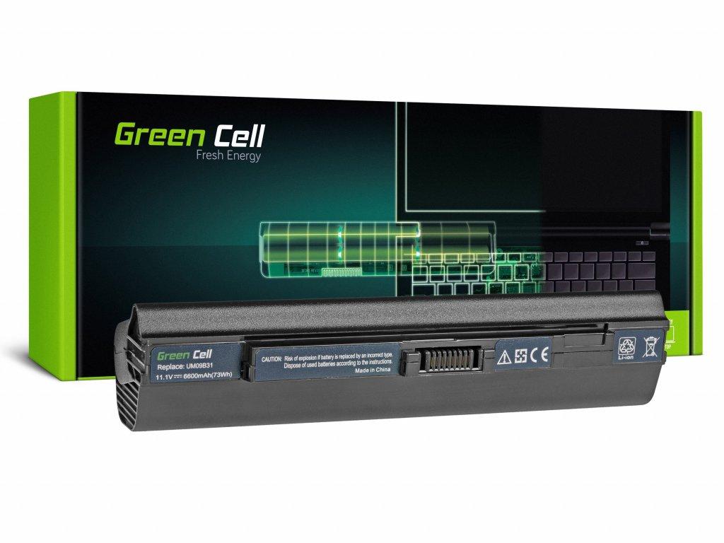 Baterie pro Acer Aspire One 531 531H 751 751H ZA3 ZG8 / 11,1V 6600mAh
