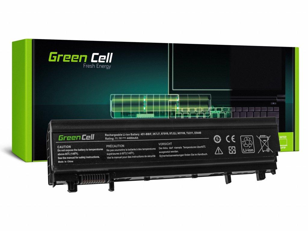 Baterie pro Dell Latitude E5440 E5540 P44G / 11,1V 4400mAh