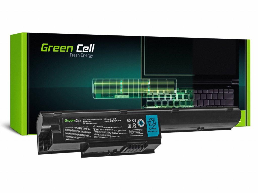 Baterie pro Fujitsu-Siemens LifeBook BH531 LH531 SH531 / 11,1V 4400mAh