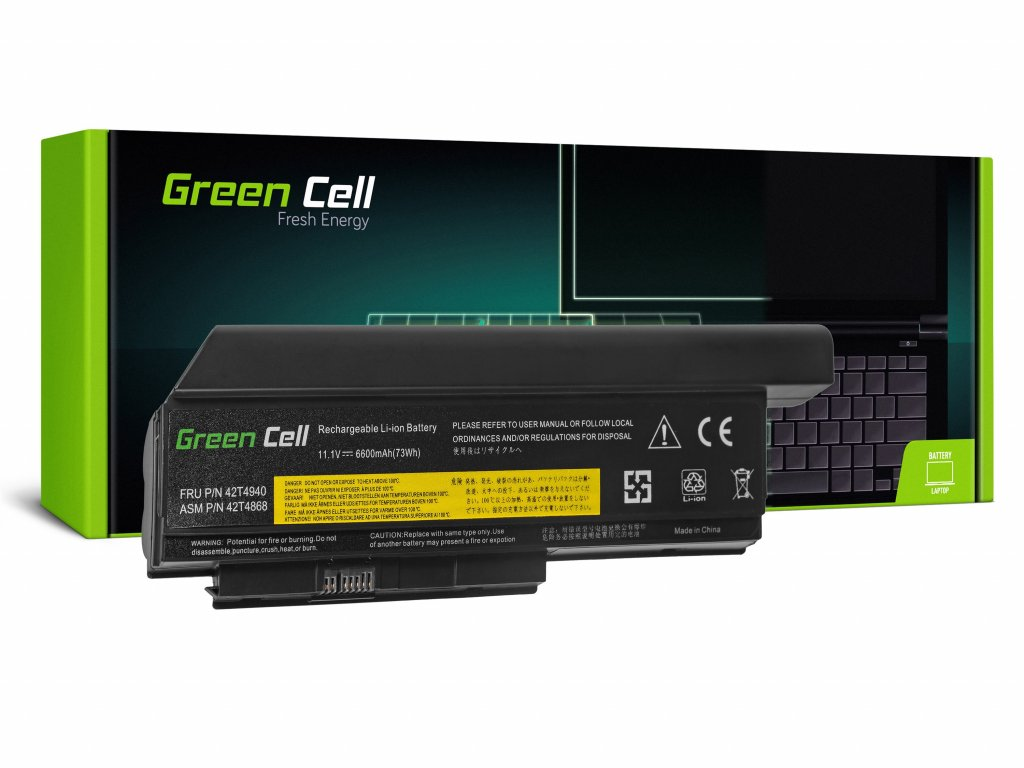Baterie Lenovo ThinkPad X220 X220i X220s / 11,1V 6600mAh