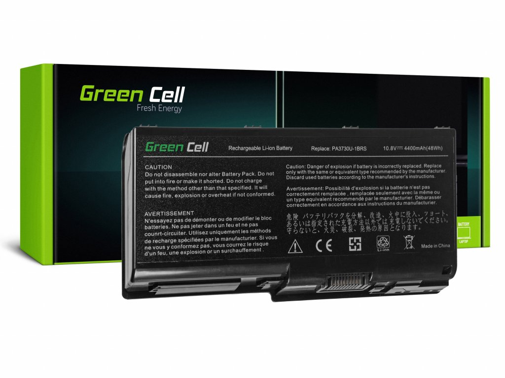 PRO Baterie pro Toshiba Qosmio X500 X505 Satellite P500 P505 P505D / 11,1V 4400mAh