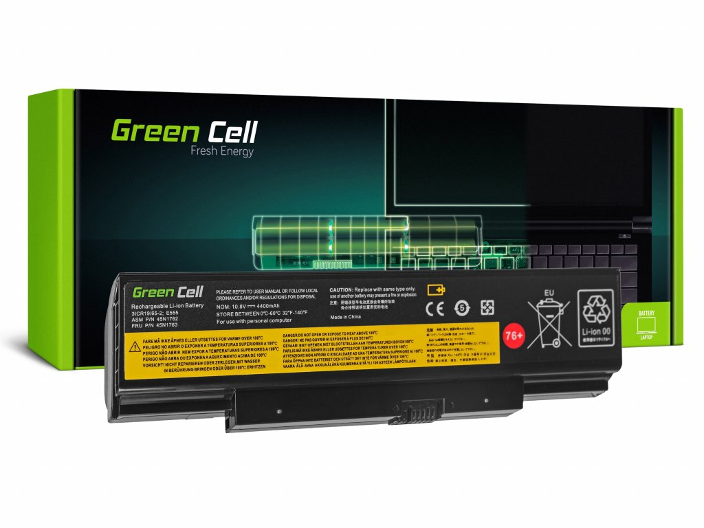 Baterie pro Lenovo ThinkPad Edge E550 E550c E555 E560 E565 / 11,1V 4400mAh