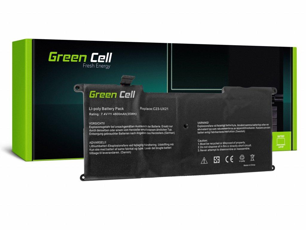 Baterie pro Asus ZenBook UX21 UX21A UX21E / 7,4V 4050mAh