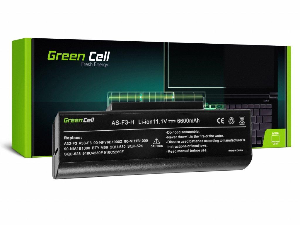 Baterie pro Asus F2 F2J F3 F3S F3E F3F F3K F3SG F7 M51 / 11,1V 6600mAh