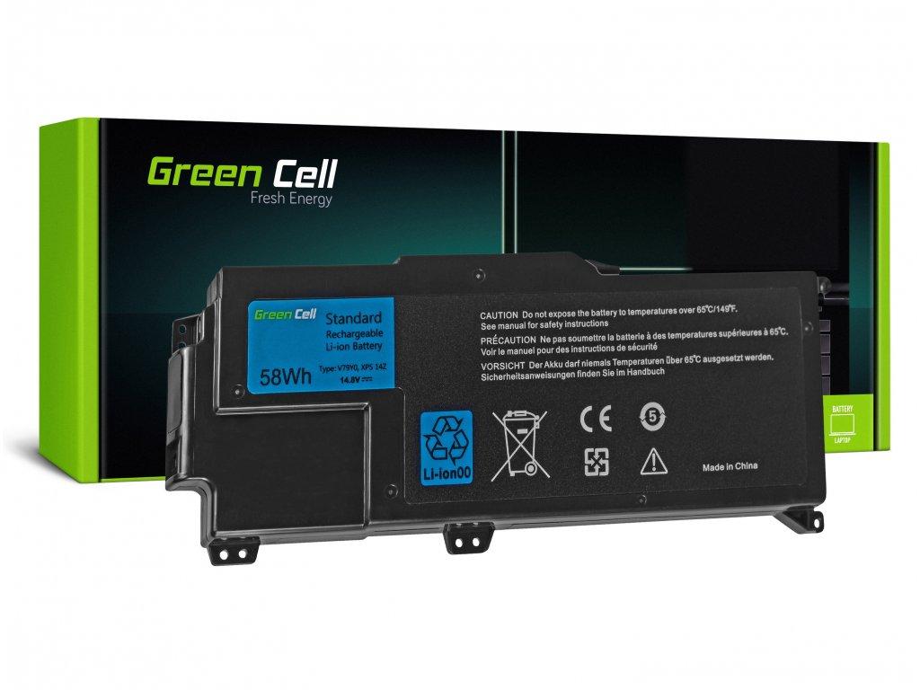 Baterie pro Dell XPS 14Z L412Z / 14,4V 3900mAh
