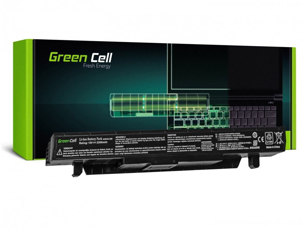 Baterie pro Asus GL552 GL552J GL552V ZX50 ZX50J ZX50V / 15V 2200mAh
