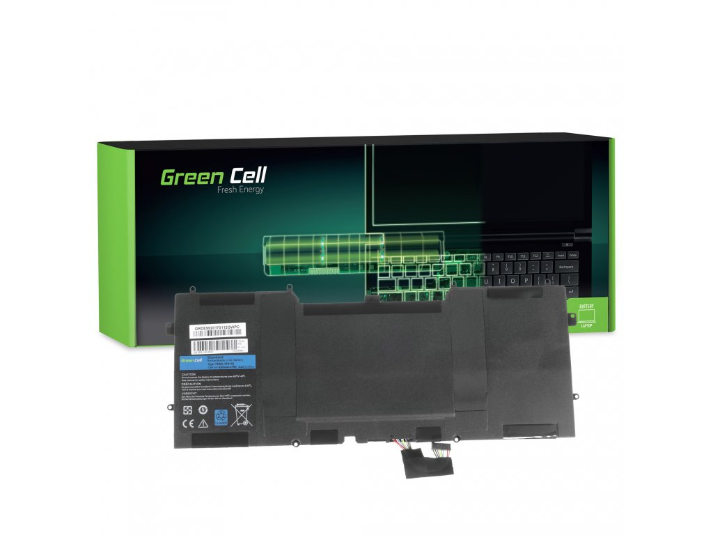 Baterie pro Dell XPS 13 9333 L321X L322X XPS 12 9Q23 9Q33 L221X / 7,4V 6300mAh
