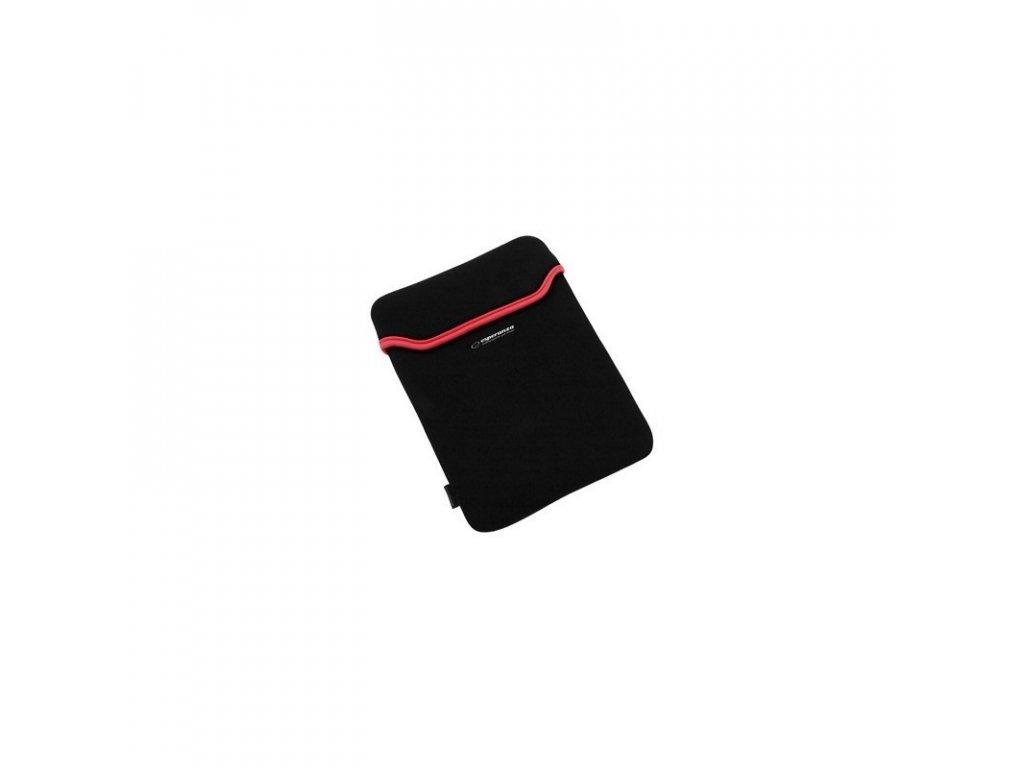 esperanza tablet case 101 black red et173r