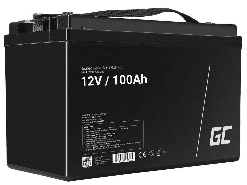 Baterie 12V 100Ah AGM