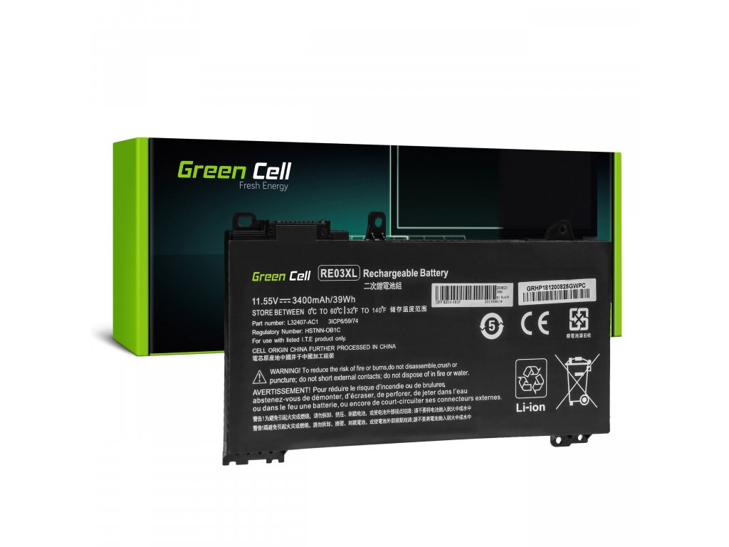 Baterie RE03XL HP ProBook 430 G6 G7 440 G6 G7 445 G6 G7 450 G6 G7 455 G6 G7 445R G6 455R G6