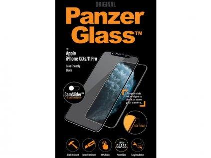 PanzerGlass iPhone X/XS/11 PRO Black tvrzené sklo s krytem kamery