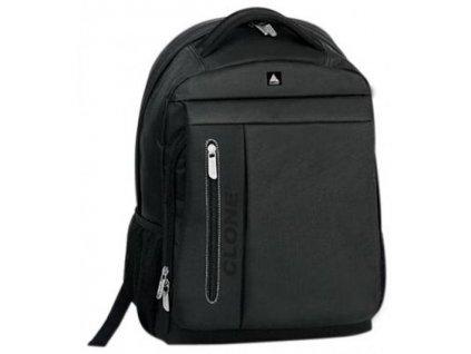 "CLONE, Batoh na notebook do velikosti 15,6"", voděodolný, černý"