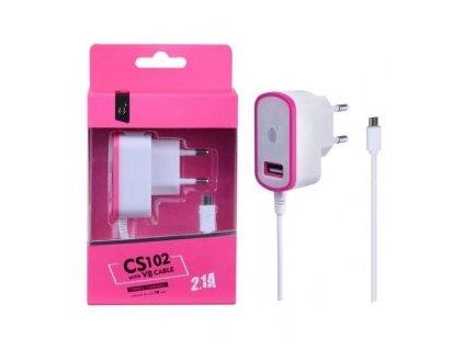 CD Plus MicroUSB nabíječka 5V, 2,1A