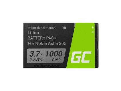Smartphone Baterie BL-4U BL4U pro Nokia 6600 E66 E75 ASHA 210 220 501