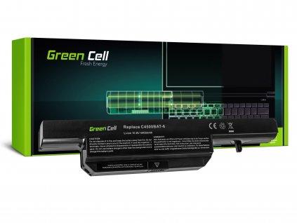 Baterie Clevo C4500 C5500 W150 W150ER W170 W170ER W170HR / 11,1V 4400mAh
