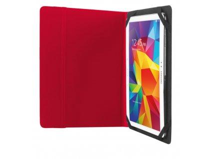 "Trust Urban deskové pouzdro a stojánek na tablet 10,1"", červené"