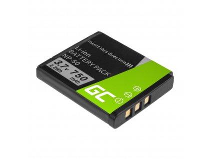 Baterie pro FujiFilm F100, F200, F300, F500, F600, F700, F80, X10, X20 NP-50 3.7V 750mAh