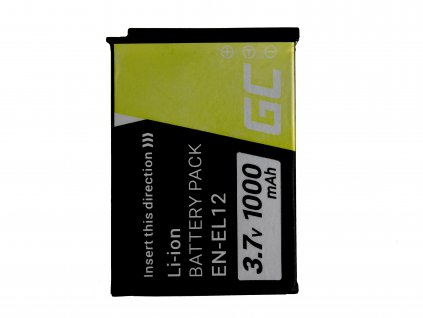 Baterie Nikon Coolpix AW100 AW110 AW120 S9500 S9300 S9200 S9100 S8200 S8100 S6300 3.7V 1000mAh