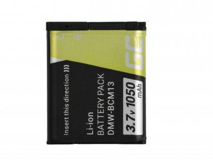 Baterie pro Panasonic Lumix DMC-FT5 DMC-TS5 DMC-TZ40 DMC-TZ60 DMC-ZS30 DMC-ZS40 DMC-ZS50 3.7V 1050mAh