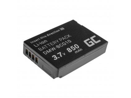 Baterie pro Panasonic Lumix DMC-TZ10 DMC-TZ20 DMC-TZ30 DMC-ZS5 DMC-ZS10 DMC-ZX1 DMC-ZX3 3.7V 850mAh