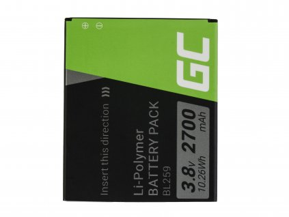 Smartphone Baterie BL259 Lenovo K3 K5 K5 Plus C2 Lemon 3